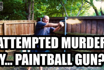 ATTEMPTED MURDER BY PAINTBALL GUN???!