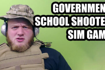 SCHOOL SHOOTER SIMULATION GAME? REALLY?