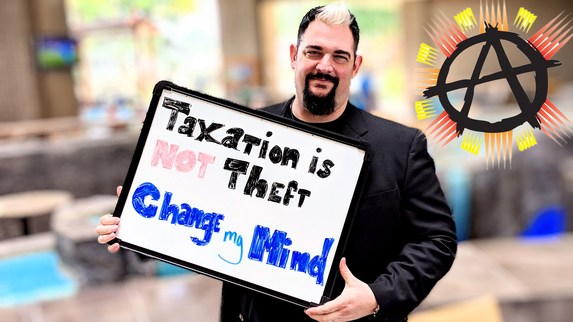 Change My Mind! Taxation is NOT Theft ft. Larken Rose