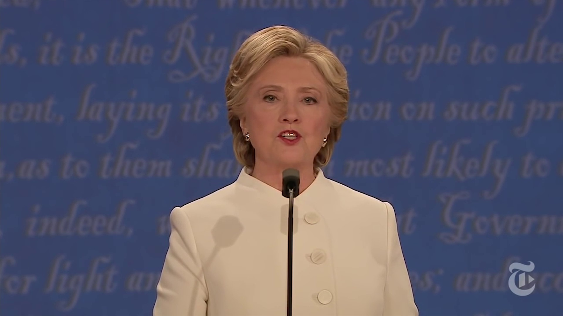 Hillary UnSupports the 2nd Amendment Presidential Debate Response