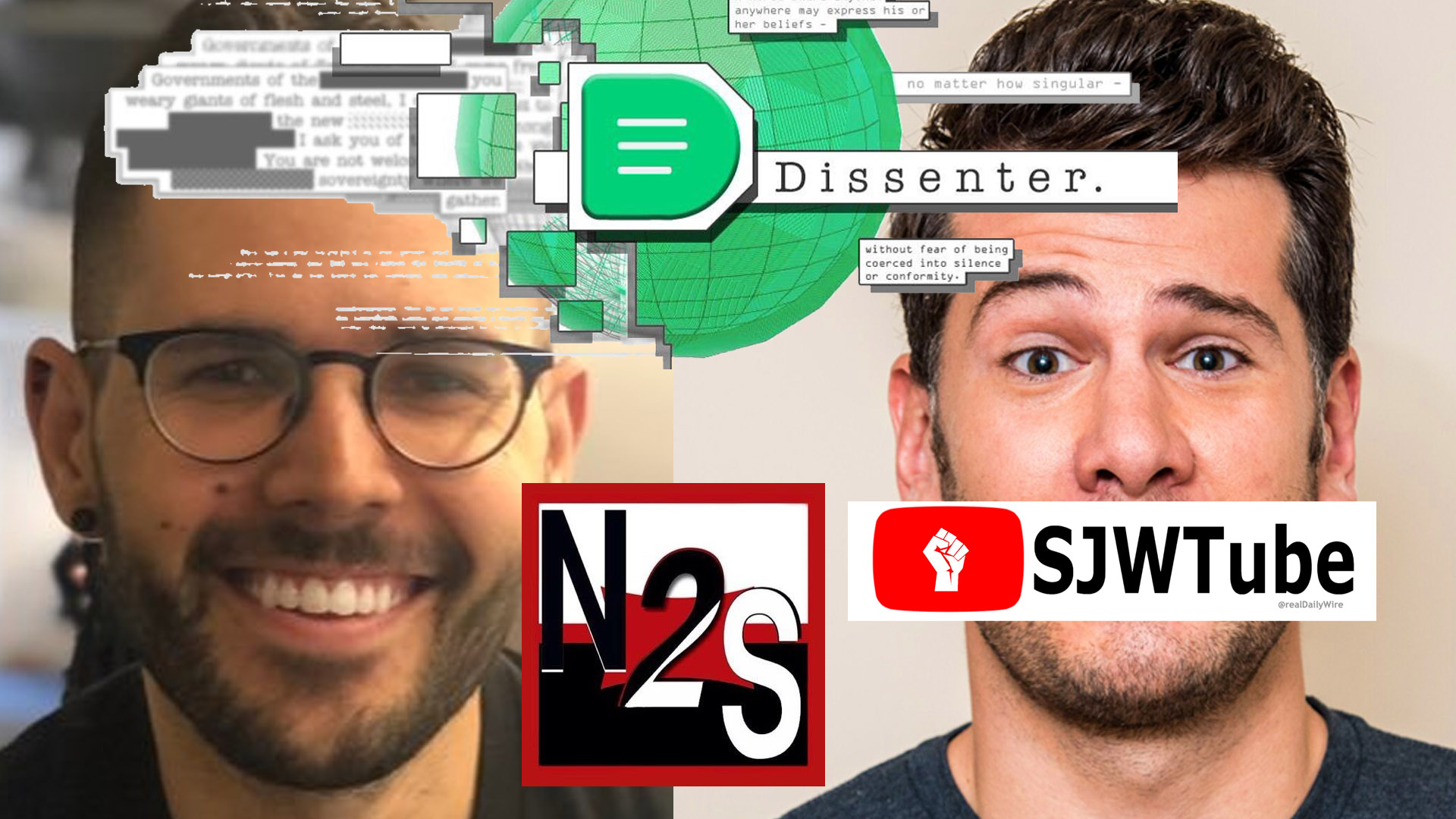Vox Adpocalypse Crowder Dissenter News2Share