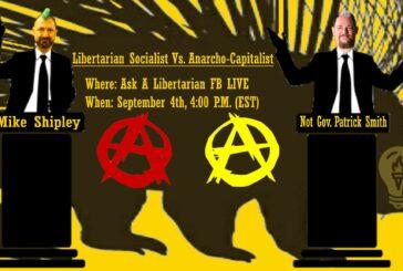 Anarcho Capitalist vs Libertarian Socialist Debate