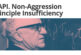 Non-Aggression Principle Insufficiency Rebuttal