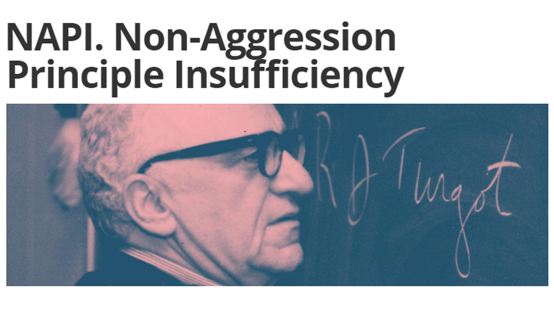 Non-Aggression Principle Insufficiency Rebuttal