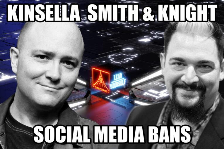 Libertarian Law Debate on Social Media Bans with Kinsella Knight and Smith